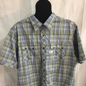 Rocawear Button Down Shirt Men's Vintage 1999 2XL